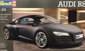 1:24 Scale Revell Audi R8 Model Car Kit #1547