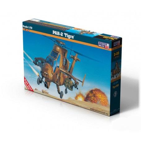 1:72 Mister Hobby Kits Tigre Helicopter Model Kit #1557