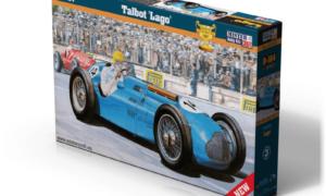 1:24 Scale Mister Hobby Kits Talbot Lago Model Car Kit #1556