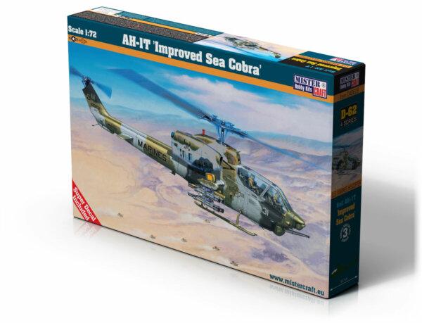 1:72 Mister Hobby Kits AH-1T Sea Cobra Helicopter Model Kit #1562