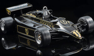 1:20 Scale Ebbro Team Lotus Type 91 (1992) F1 Model Car Kit #1576p