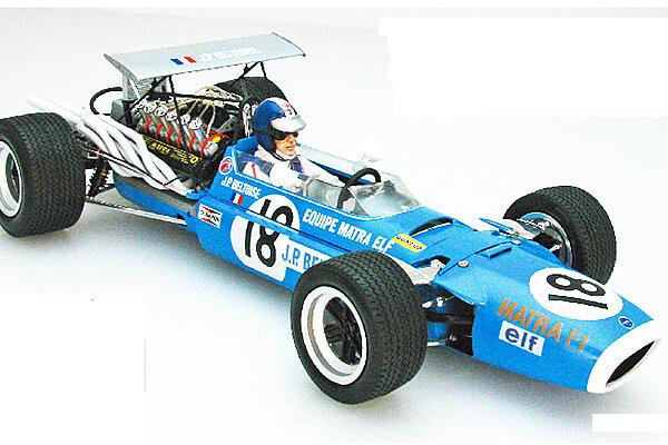 1:20 Scale Ebbro Matra MS11 British GP F1 Model Car Kit #1577