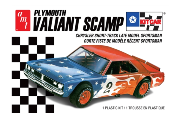1:25 AMT Plymouth Valiant Scamp Model Car Kit #1570