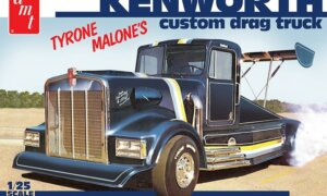 1:25 AMT Kenworth Drag Truck Tyrone Malone's Model Kit #1563