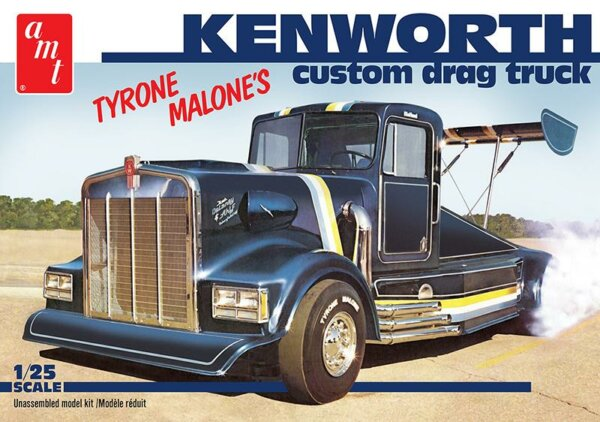 1:25 AMT Kenworth Drag Truck Tyrone Malone's Model Kit #1563