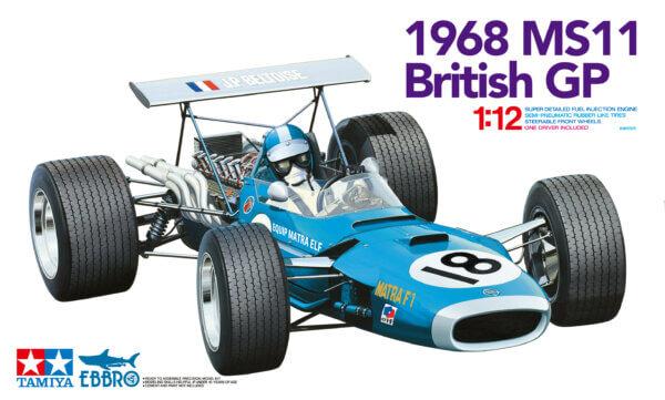 1:20 Scale Tamiya Ebbro Matra MS11 British GP F1 Model Car Kit #1577
