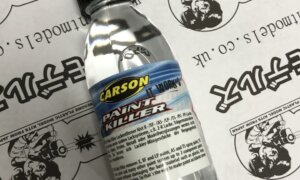 Tamiya Carson Paint Remover To Gently Remove Tamiya Paints From Models