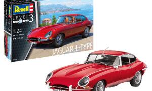 1:24 Scale Revell Jaguar E Type Coupe Car Model Kit #1635