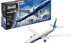 1:144 Scale Revell Boeing 777-300ER Model Kit #1643