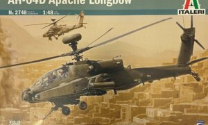 1:48 Scale Italeri AH-64D Longbow Apache Model Kit #1633