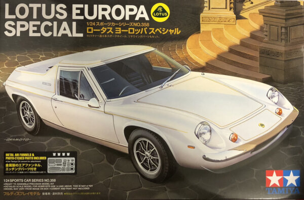 1:24 Scale Tamiya Lotus Europa Special Car Model Car Kit #