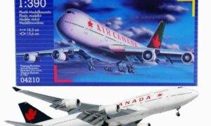 1:390 Scale Revell Boeing 747-200 Model Kit #1653