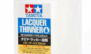 Tamiya Paint Thinner & Retarder For Lacquer Paint [LP Codes] 250ml Bottle