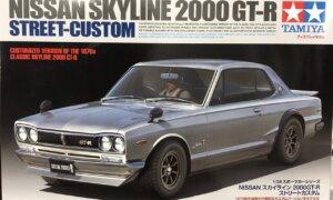 1:24 Scale Tamiya Nissan Skyline 2000 GTR Model Car Kit #