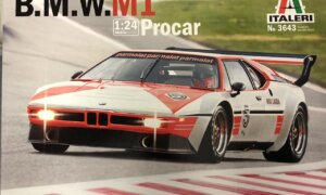 1:24 Scale Italeri BMW M1 Procar Niki Lauda 1979 Model Car Kit #1678