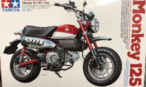 1:12 Scale Tamiya Honda Monkey 125 Motorcycle Model Kit #