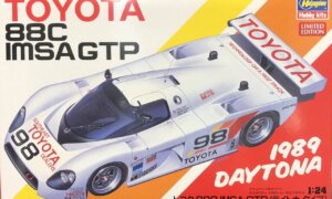 1:24 Scale Hasegawa Toyota 88C Group C IMSA Race Car Model Kit #