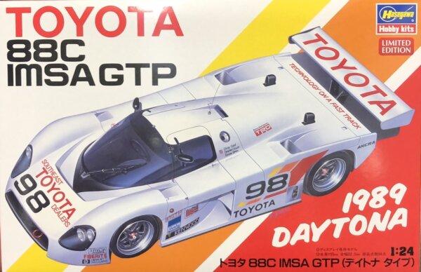 1:24 Scale Hasegawa Toyota 88C Group C IMSA Race Car Model Kit #