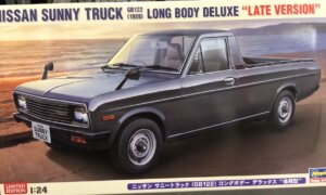 1:24 Scale Hasegawa Nissan Sunny GREY Pick-Up GB122 Model Kit #