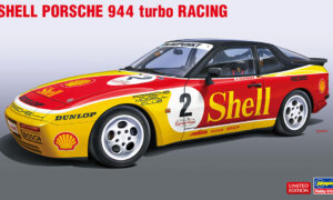 1:24 Scale Hasegawa Porsche 944 Turbo Race Car Model Kit #