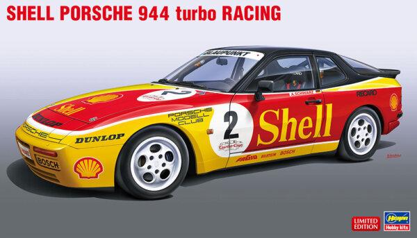 1:24 Scale Hasegawa Porsche 944 Turbo Race Car Model Kit #