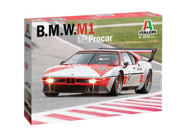 1:24 Scale Italeri BMW M1 Procar Niki Lauda 1979 Model Car Kit #1678