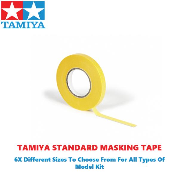 Tamiya Masking Tape 6 Different Sizes To Choose #