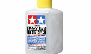 Tamiya Paint Thinner For Lacquer Paint [LP Codes] 250ml Bottle