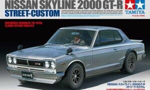 1:24 Scale Tamiya Nissan Skyline 2000 GTR Model Car Kit #1662
