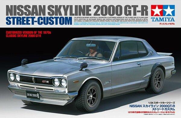 1:24 Scale Tamiya Nissan Skyline 2000 GTR Model Kit #1662
