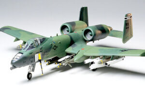 1:48 Scale Tamiya U.S.A.F. Fairchild Republic A-10 Thunderbolt II Model Kit #1634
