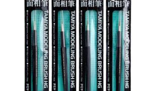 Tamiya HG Pointed Brush 4 Types / Super Detail Work Brush - Choose Option
