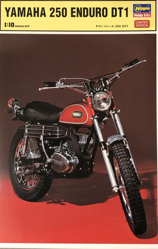 1:12 Scale Hasegawa Yamaha 250 Enduro DT1 Model Kit #1673