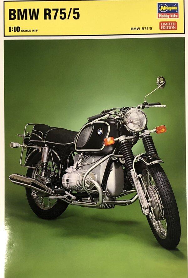1:12 Scale Hasegawa BMW R75/5 Motorcycle Model Kit #1672