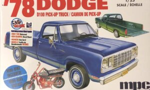 1:25 Scale MPC Models Dodge D100 Custom Pickup Model Kit #1667