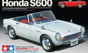 1:24 Scale Tamiya Honda S600 Model Kit #1664