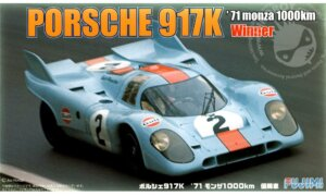 1:24 Scale Fujimi Porsche 917K '71 Tetsu Ikuzawa Fuji Grand Champion Model Kit #