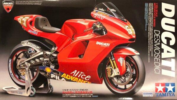 1:12 Scale Tamiya Ducati Desmosedici Model Kit #