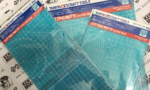 Tamiya Cutting Mat (A3-Half / A4 / A5 Blue) For Model Kits