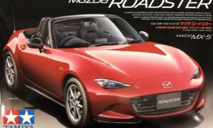 1:24 Scale Tamiya Mazda MX-5 Roadster Model Kit #