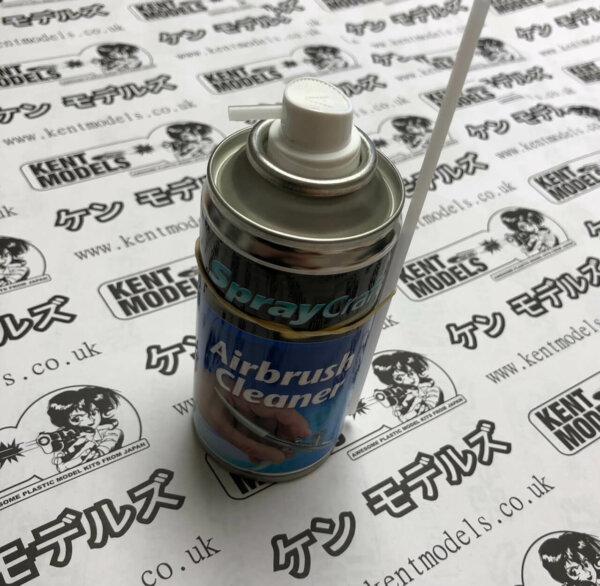Spraycraft Airbrush Cleaner - Aerosol Power Cleaner for Airbrushes #