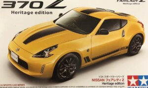 1:24 Scale Tamiya Nissan 370Z Heritage Edition Model Kit #1660