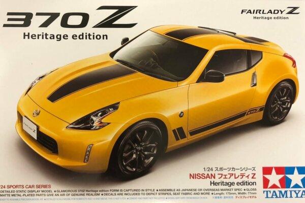 1:24 Scale Tamiya Nissan 370Z Heritage Edition Model Kit #