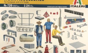 1:24 Scale Italeri Truck Accessories Set #