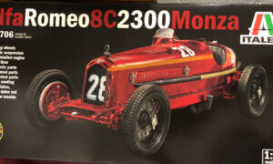1:12 Italeri Alfa Romeo 8C 2300 Monza Model Kit #