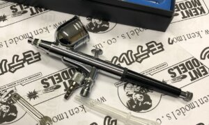 Kent Models Airbrush - 0.3mm Nozzle Dual Action Top Feed For Painting Models