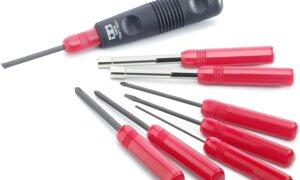 "Tamiya Builders 8"" Screwdriver Tool Set For Model Making Kits #"