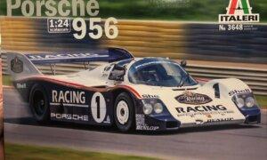 1:24 Scale Italeri Porsche 956 (24H Le Mans 1983) Model Kit #