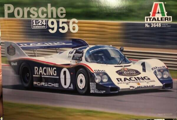 1:24 Scale Italeri Porsche 956 (24H Le Mans 1983) Model Kit #