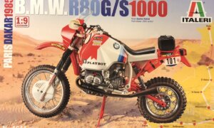 1:12 Scale Tamiya BMW 1000 Dakar 1985 Motorbike Model Kit #
